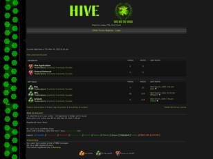 Free forum : The Hive