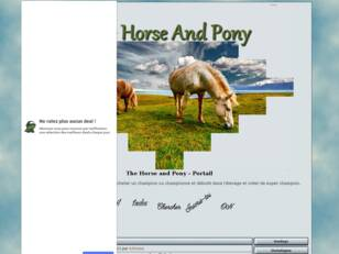 The Horse and Pony