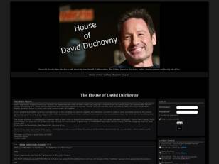 HoDD Forum for David Duchovny's fans