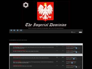 Free forum : The Imperial Dominion