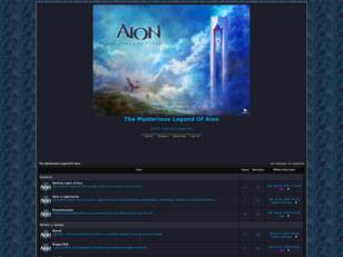 The Mysterious Legend Of Aion
