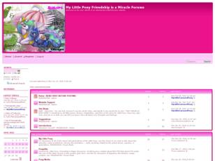 Free forum : My Little Pony Friendship is Magic Forum