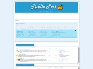 Public Post-Best Promotional Service on Offer