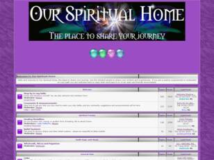 Our Spiritual Home - A Spiritual Forum & Community