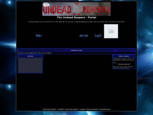 Free forum : The Undead Reapers