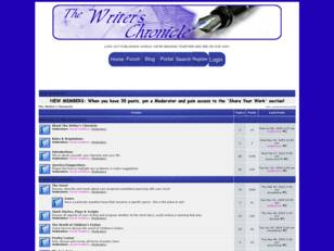 Free forum : The Writer's Chronicle