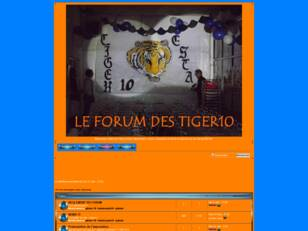 creer un forum : tiger10