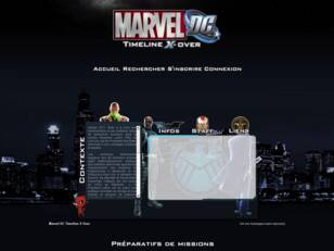 Marvel DC Timeline X Over