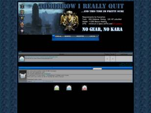 TIRQ Tomorrow I Really Quit - Guild Forum