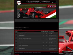 TMOC - The Master Of Champions PS4 Formula1 Team