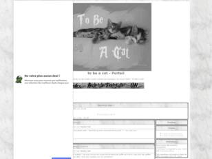 Forum gratuit : to be a cat