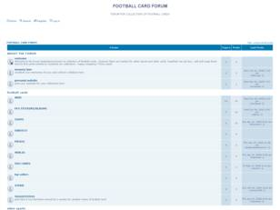 Free forum : FOOTBALL CARD FORUM