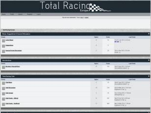 Total Racing Europe Forums: Forza Motorsport Club