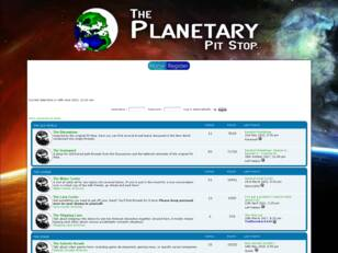 The Planetary Pit Stop