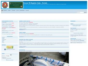 Forum gratis : Forum TR Register Italy
