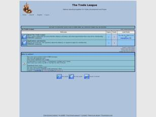 Free forum : The Trade League