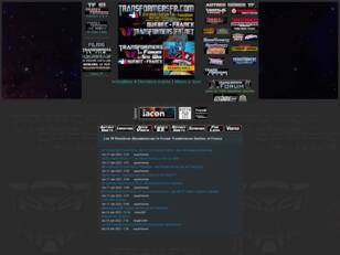 Les Transformers Forum et Site Web
