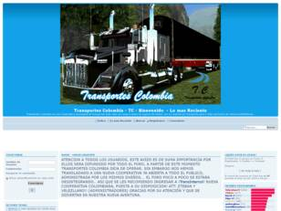 Transportes Colombia 18 WoS