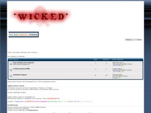 Foro gratis : *WicKeD*