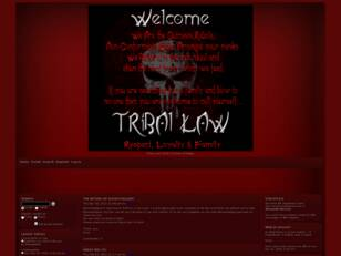 Free forum : Tribal Law RoM