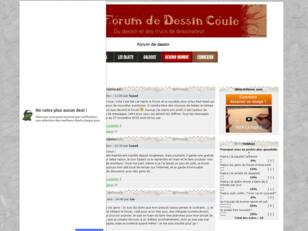 Le forum de dessin coule...