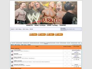 WWE Türkiye - WWE Turkey - WWETR