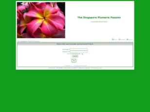 The Singapore Plumeria Passion