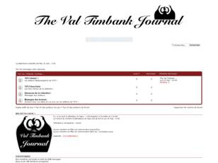 The Val Timbank Journal