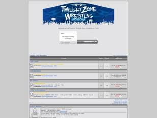 Free forum : Twilight Zone Wrestling