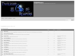 Free forum : TwilightReapers