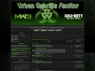 UGF - Urban Guerilla Faction PS3 MW3 and Black Ops II clan