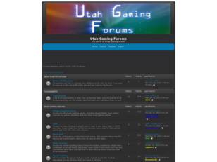 Utah Gaming Forums