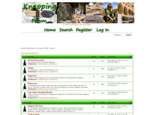 Flint Knapping Forum