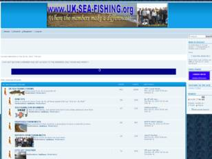 UK sea fishing
