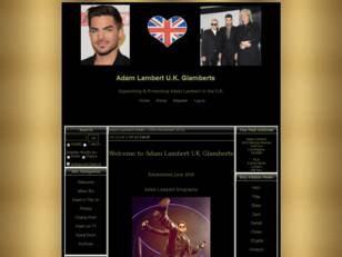 Adam Lambert UK Glamberts