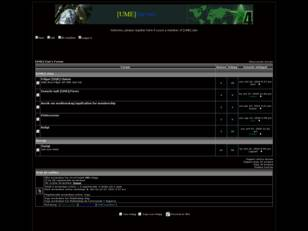 [UME] Clan's Forum