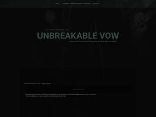 The Unbreakble Vow