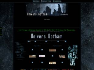 Univers Gotham City - Batman rpg