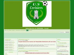 Forum du club de football de l'US CERISIERS