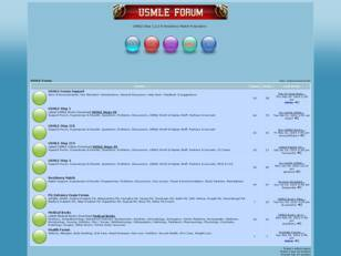 USMLE Medical Forum