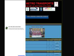 Forum de l'US Métro Transports Section Cyclisme