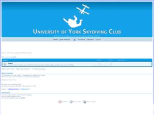 The University of York Skydiving Club Forum