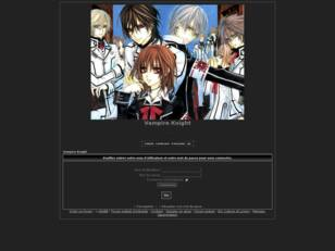 creer un forum : Vampire Knight