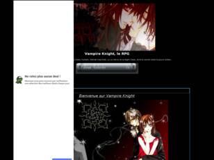 Forum gratuit : Vampire Knight, le RPG