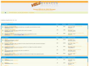 Forum Officiel de Vélo Manager
