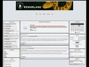 VenomLand - the Board for venomous Snakes