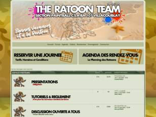 VillaPaintball / Ratoon Team - Paintball Paris sud / île-de-France