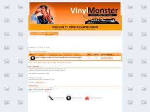 WELCOME TO VINYLMONSTER FORUM