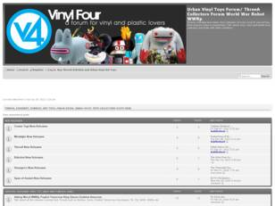 Vinyl Toys Forum, A Place For Plastic Lovers