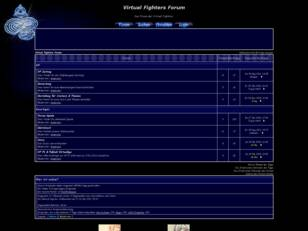 Virtual Fighters Forum